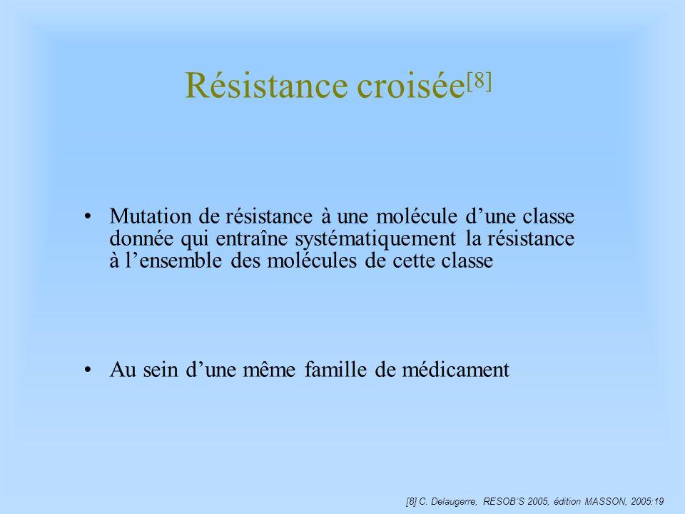 Résistance croisée[8]